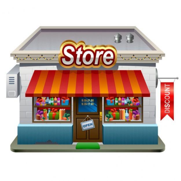 small shops model vector 34 48254 Издаване на акциз за търговия с алкохол и тютюневи изделия